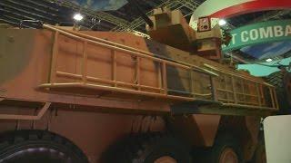 getlinkyoutube.com-ST Engineering - Terrex 2 8X8 IFV & Bronco New Gen Tracked Vehicle Unveiled [1080p]
