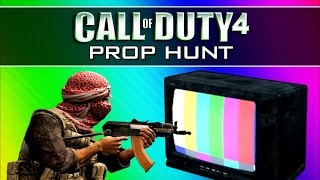 getlinkyoutube.com-Call of Duty 4: Prop Hunt Funny Moments 2 - Operation Bigfoot, Mannequins, Claymore Win (CoD4 Mod)