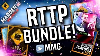 RTTP Bundle Opening! Madden Mobile 16 Road To The Playoffs Bundle