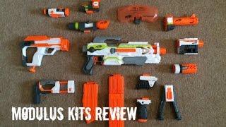 getlinkyoutube.com-Nerf N-Strike Modulus Kits Unboxing & Review