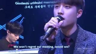 getlinkyoutube.com-Engsub   Vietsub 141226 EXO Lay,Chanyeol,Baekhyun, D O   Don't be sad 슬픈 표정 하지 말아요