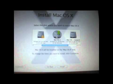 Installing Mac OS X Snow Leopard on Acer Aspire One Part 1