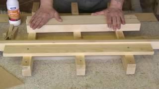 getlinkyoutube.com-Как сделать нарды . Заготовка для резьбы.