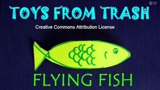 getlinkyoutube.com-FLYING FISH - TAMIL - Simplest Flying Toy!