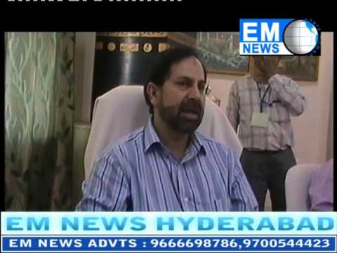 EM NEWS HYDERABAD  Haj  Committee 17 04 2014