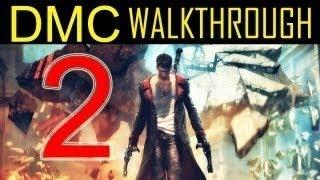 DMC walkthrough - part 2 Devil may cry walkthrough part 2