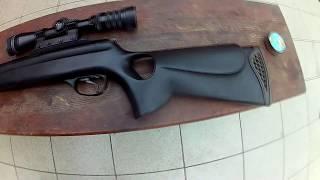 getlinkyoutube.com-Пневматическая винтовка 450 м/с! Самая мощная воздушка в мире! Pneumatic rifle 450m/s.