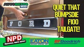 Ford F100 Bumpside Tailgate Silencers Installation and Tweeks Epsidoe 291 Autorestomod 1