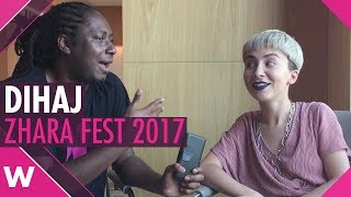 Dihaj on the new album, songwriting and Eurovision at Zhara Fest 2017