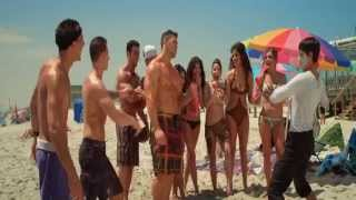 getlinkyoutube.com-Jersey Shore Massacre - Brett Azar shirtless on the beach