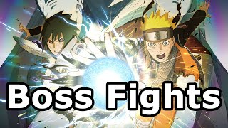 getlinkyoutube.com-Naruto Shippuden Ultimate Ninja Storm 4 - All Boss Fights / Boss Battles