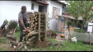 getlinkyoutube.com-Makita DCS7901 chainsaw αλυσοπρίονο ~ Έλληνας υλοτόμος