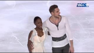 Vanessa JAMES/Morgan CIPRES - Championnat de France 2015 - LP