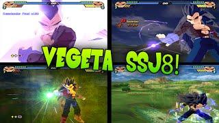 getlinkyoutube.com-Vegeta SSJ8! Budokai Tenkaichi 3 Mod!~TheGokussj377【HD】