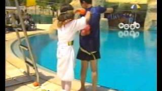 getlinkyoutube.com-Adila Rebib_عديلة ربيب_Water Games_ 2nd Part