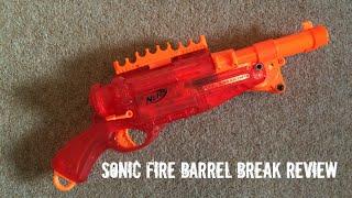 getlinkyoutube.com-Nerf N-Strike Sonic Fire Barrel Break IX-2 Unboxing, Overview & Firing Test