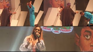 9ice Shows Respect To Legend 2Face As Tiwa Savage Performed @ Apere show (Nigerian Entertainment)