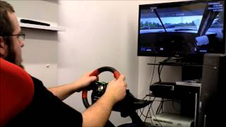 Qbika GT2 and Logitech Formula Force EX Presentation