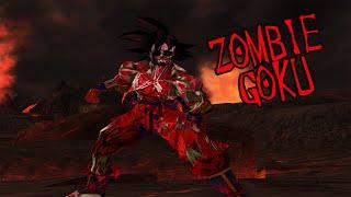 getlinkyoutube.com-Zombie Goku *Halloween Special* | DBZ Budokai Tenkaichi 3 (MOD)