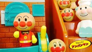 getlinkyoutube.com-アンパンマンおもちゃアニメ  わくわくおしゃべりパン工場deあそぼう! 歌 映画 テレビ Anpanman Toys