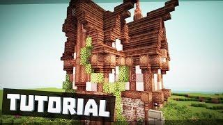 getlinkyoutube.com-Minecraft Mittelalter Haus / Villa bauen ★ Tutorial