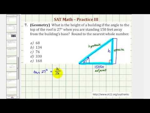 SAT Math (Geometry) - Practice 3.7