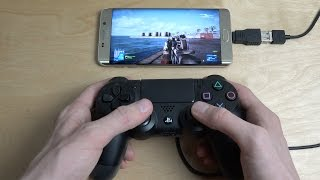 getlinkyoutube.com-Battlefield 3 Online Samsung Galaxy S6 Edge Plus NVIDIA GameStream PS4 Controller Gameplay!