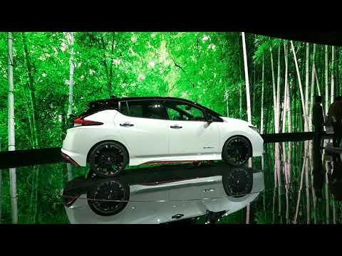 Концепт заряженного электромобиля NISSAN Leaf Nismo