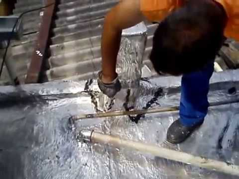 MANTA ALUMINIZADA - manta para telhado - impermeabilização