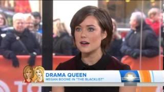 getlinkyoutube.com-Megan Boone: 'I fought' for role on 'Blacklist'