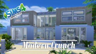 getlinkyoutube.com-The Sims 4 - House Build - Modern Crunch