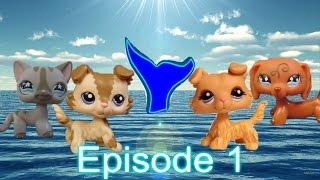 """getlinkyoutube.com-Lps Mermaid Mystery Episode:1 """"The Gem"""""""
