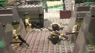 getlinkyoutube.com-Lego WW2 Battle of Brecourt