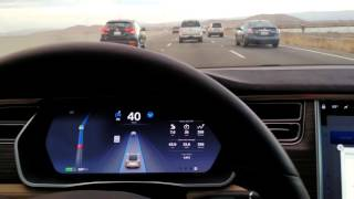 Tesla Autosteer Autonomous Self-driving