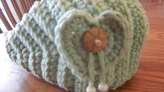 Banda con Corazón para Niña crochet