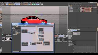 Car Rigging in Maxon 4D With Xpresso