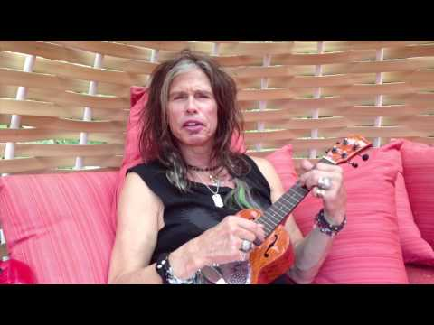 Steven Tyler sends a Hawaiian Birthday Message to Willie Nelson