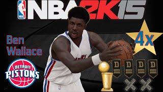 getlinkyoutube.com-NBA 2K15 Ben Wallace Creation: Attributes, Features, Badges, Etc.