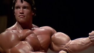 getlinkyoutube.com-Arnold Schwarzenegger Bodybuilding Training - No Pain No Gain 2013