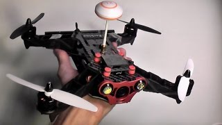getlinkyoutube.com-Eachine Racer 250 - Hard Core Racing At A Low Cost - Review and Flight