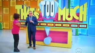 getlinkyoutube.com-The Price is Right - That's Too Much - 3/4/2015