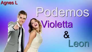 getlinkyoutube.com-Podemos Violetta & Leon (Lyrics video)