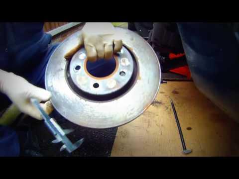 Как быстро снять передние тормозные диски Chrysler, Dodge