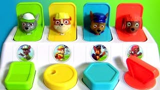 getlinkyoutube.com-Patrulha Canina Pop-Ups Toys Surprise em Portugues Nickelodeon Paw Patrol Pop-Up Pals Surprise