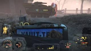 getlinkyoutube.com-Fallout 4 swan survival mode melee