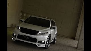 "getlinkyoutube.com-"" TOYOTA 60HARRIER"" ZEUS LUV-LINE bodykit OverFender ver