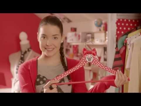 Minnie & You - Wieszaki Minnie. Oglądaj w Disney Channel!