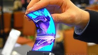 getlinkyoutube.com-Samsung Announces Youm Flexible OLED Displays at CES 2013