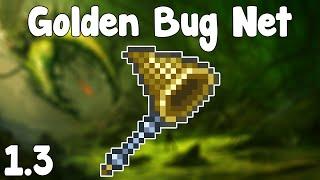 getlinkyoutube.com-Terraria 1.3 - Golden Bug Net , INFINITE BAIT FARM + GOLDEN BUGS! - Terraria 1.3 Guide New Bug Net!