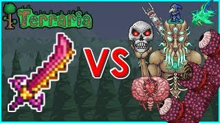 getlinkyoutube.com-Terraria - Star Wrath vs Bosses | Biron